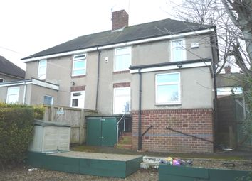 Thumbnail 2 bed semi-detached house to rent in Paper Mill Road, Shiregreen