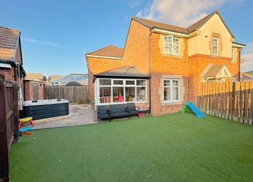 Thumbnail 3 bed detached house for sale in Daisy Hill Court, Huncoat, Accrington