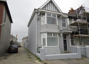 Thumbnail 1 bed flat for sale in Mount Gould Road, Plymouth