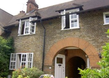 Thumbnail 3 bed terraced house to rent in Asmuns Place, Hampstead Garden Suburb
