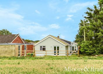 Thumbnail 3 bed detached bungalow for sale in Willow Way, Ludham, Great Yarmouth