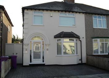 Thumbnail 3 bed semi-detached house to rent in South Highville Road, Childwall, Liverpool 16