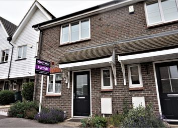 Thumbnail 2 bedroom terraced house for sale in Baker Crescent, Dartford