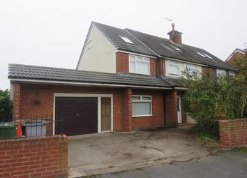 Thumbnail 6 bed semi-detached house for sale in School Lane, Meols, Wirral