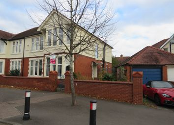 Thumbnail 4 bed semi-detached house for sale in Waterloo Road, Penylan, Cardiff