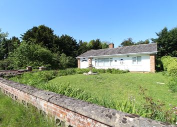 3 bed detached bungalow for sale in Thelnetham Road, Hopton, Diss IP22