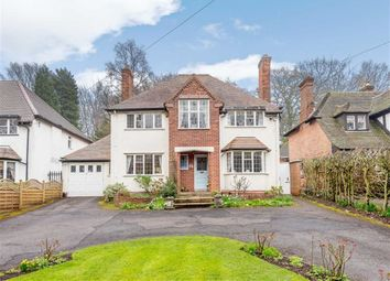 Thumbnail 4 bed detached house for sale in Walsall Road, Little Aston, Sutton Coldfield