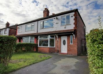 Thumbnail 3 bed semi-detached house for sale in Kenwood Avenue, Burnage, Manchester
