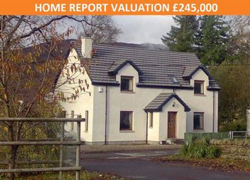 Thumbnail 4 bed detached house for sale in Strathcarron