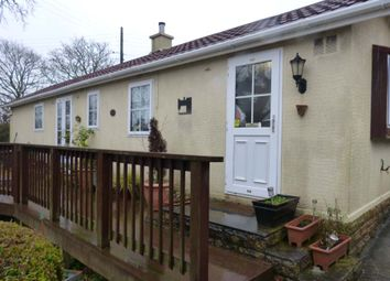 Thumbnail 2 bed mobile/park home for sale in Little Trelower Park, Sticker