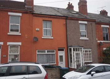 Thumbnail 3 bedroom terraced house for sale in Broomfield Road, Coventry