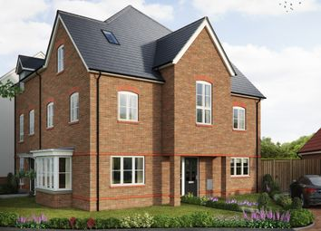 "Thumbnail 4 bed semi-detached house for sale in ""The Hedingham"" at Saunders Way, Basingstoke"