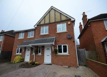 Thumbnail 3 bed semi-detached house to rent in Elm Road, Reading
