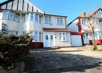 Thumbnail 5 bedroom semi-detached house to rent in Tiverton Avenue, Clayhall, Ilford