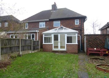 Thumbnail 2 bed property to rent in Manor Road, Killamarsh, Sheffield