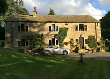 Thumbnail 4 bed detached house for sale in Pot Oven Farm, Burnley Road, Cliviger