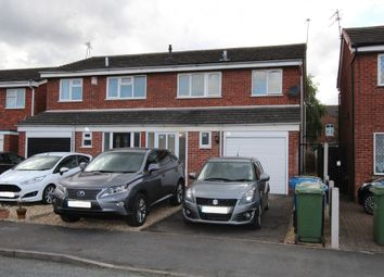 Thumbnail 3 bed semi-detached house to rent in Glascote, Tamworth