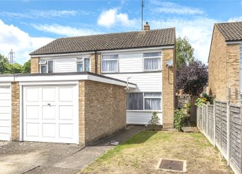 Thumbnail 3 bed semi-detached house for sale in Canford Drive, Addlestone, Surrey