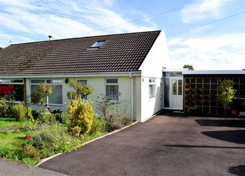 Thumbnail 3 bedroom semi-detached bungalow for sale in Wyebank Avenue, Tutshill, Chepstow