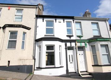 Thumbnail 3 bedroom terraced house to rent in Beatrice Avenue, Keyham, Plymouth
