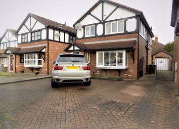 Thumbnail 3 bed detached house for sale in Beresford Crescent, Stockport