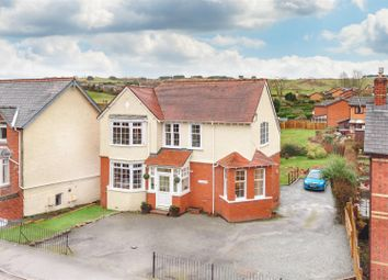 Thumbnail 4 bed detached house for sale in Treheyrn, Wellington Road, Llandrindod Wells