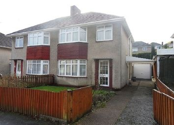 Thumbnail 3 bed semi-detached house to rent in Sunningdale Avenue, Mayals, Swansea