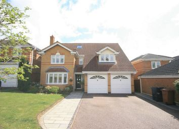 Thumbnail 6 bed detached house for sale in Tudely Close, Wootton, Northampton
