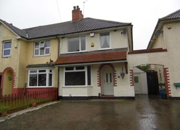 Thumbnail 3 bed end terrace house to rent in Prince Of Wales Lane, Warstock, West Midlands