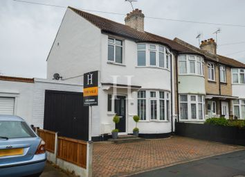 Thumbnail 3 bedroom end terrace house for sale in Central Avenue, Southend-On-Sea, Essex
