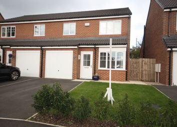 Thumbnail 3 bed semi-detached house for sale in Foundry Way, Guisborough