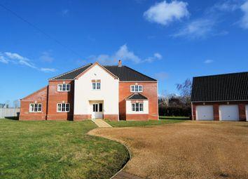 Thumbnail Detached house for sale in Station Road, Norfolk, Dereham
