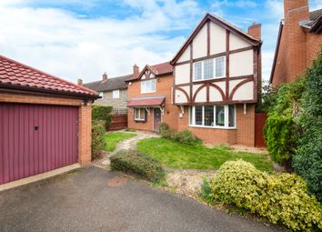 Thumbnail 4 bed detached house for sale in Borley Way, Teversham, Cambridge