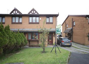 Thumbnail 3 bed semi-detached house for sale in Anglian Close, Oswaldtwistle, Accrington