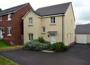Thumbnail 4 bed detached house to rent in Heol Y Groes, Cwmbran