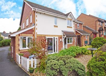 Thumbnail 2 bedroom end terrace house for sale in Brownlees, Exminster, Exeter