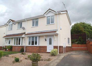 Thumbnail 2 bed semi-detached house to rent in Danebridge Crescent, Oakwood, Derby