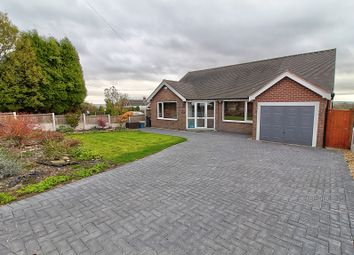 Thumbnail 4 bed bungalow for sale in Leycett Road, Scot Hay, Newcastle-Under-Lyme