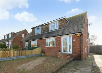 Thumbnail 3 bed semi-detached house for sale in Manor Road, Herne Bay, Kent