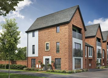 "Thumbnail 4 bedroom town house for sale in ""The Maple "" at Berrington Road, London Road, Hampton"