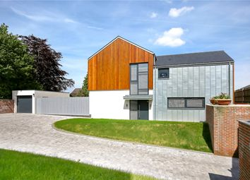 Thumbnail 4 bed detached house for sale in Queenwood Road, Broughton, Stockbridge, Hampshire
