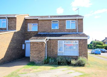 Thumbnail 4 bed end terrace house for sale in St Peters Close, Flitwick