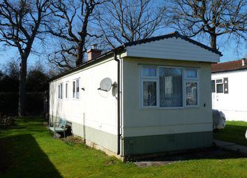 St. Brelades Court, Crouch House Road, Edenbridge TN8. 1 bed mobile/park home for sale