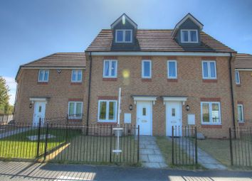 Thumbnail 3 bed town house for sale in Greenvale Avenue, Newcastle Upon Tyne