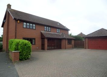 Thumbnail 5 bedroom detached house to rent in Bures Road, Great Cornard, Sudbury