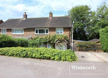 Thumbnail 3 bed semi-detached house for sale in Stapleton Road, Borehamwood, Hertfordshire