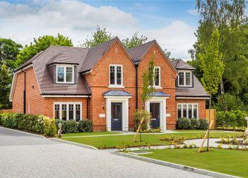 Flexlands Place, Chobham, Woking, Surrey GU24. 3 bed semi-detached house for sale