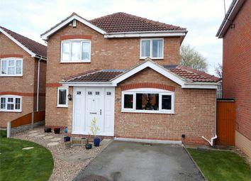 Thumbnail 3 bed detached house for sale in Blenheim Rise, Worksop, Nottinghamshire