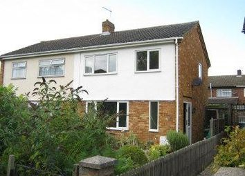 Thumbnail 3 bedroom semi-detached house to rent in Springfield Close, St Neots