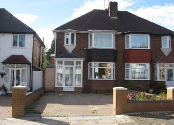 Thumbnail 3 bed semi-detached house to rent in White Road, Quinton, Birmingham, West Midlands